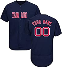 Zhijiagelily MLB Jersey Custom,Suitable for Adult Men, Women and Young Children The Scarlet Letter in Blue