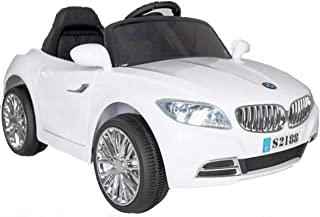 Bebouze Kids BMW Style saloon Ride on car White