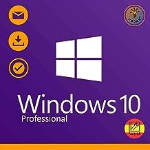 Windows 10 Pro (Professional) 32 / 64 bits Licencia | Windows 10 Home Upgrade | Clave de Activación Original | Español | 1...