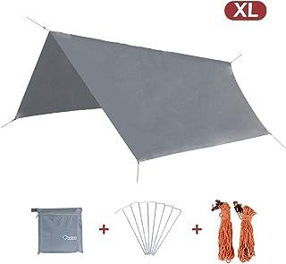 TRIWONDER Toldo de Camping Hexagonal Impermeable Lona de Carpa Ligera para Acampar Picnic Playa al Aire Libre
