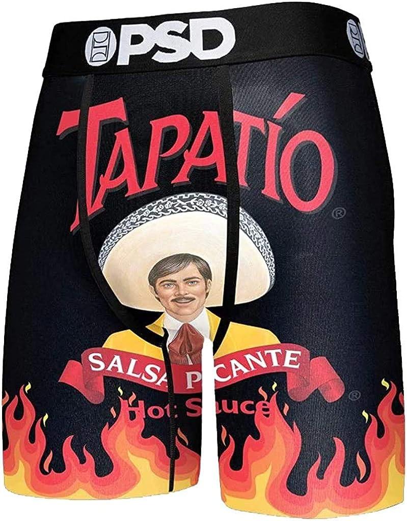 PSD Men's Tapatio Black Boxer Brief Underwear,Large,Black