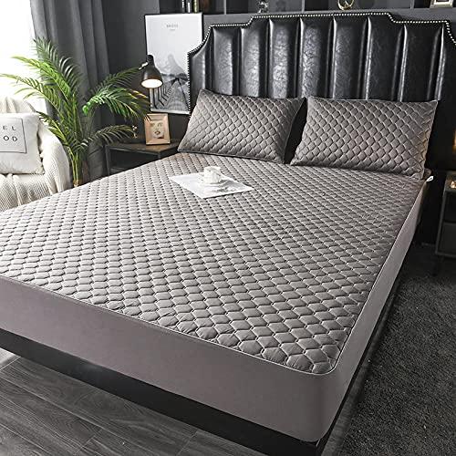 YFGY Laken Premium Textiles Single 120 * 200cm, Cartoon Baumwolle Bettwäsche Spannbetttücher, Matratzenschoner für Kinderzimmer Wohnheim Dunkelgrau 1