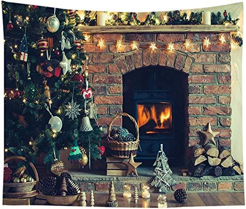 JJDSN Fondos de Estudio fotográfico 95cm * 73cm Tapiz navideño Dormitorio Decoración de la habitación Fondo Tela Fondo fotográfico