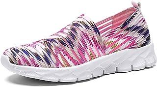 Zapatos para Corror Mujer Zapatillas de Deportiva Slip on Huecos Sneakers para Caminar Walking Calzado Malla Transpirables...
