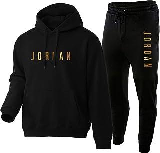 FGNB Basketball Hoodies and Pants, Jordan Basketball Sportswear Warm and Comfortable Long-Sleeved Basketball Hoodies Fashi...