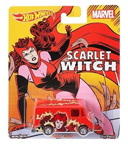 Hot Wheels Marvel Scarlet Witch - Combat Medic Vehicle