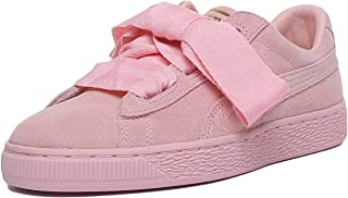 Puma Suede Heart Jr Bold Lace Lace Up Trainer