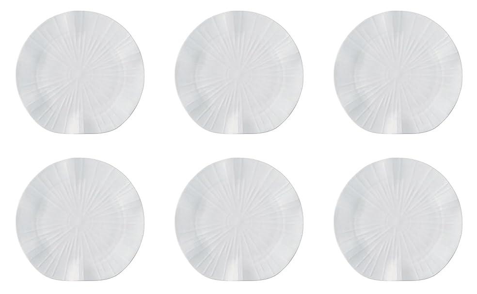 ジャックペルゲイ ロータス ダイニングプレート 6枚セット ホワイト JP2701LOWH(6)