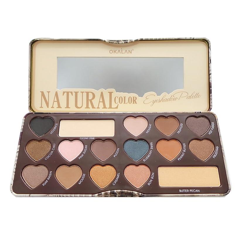 悪いスライス高速道路(3 Pack) OKALAN Natural Color Eyeshadow Palette A (並行輸入品)