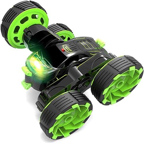 Deformation Stunt-Auto-Dump taumelndes Auto, elektrische Fernsteuerungs-Stunt-Auto, Fernsteuerungsauto-2.4GHz-Auto-Hochgeschwindigkeits-360-Grad-Rollendrehung (ohne Batterie) Kinder, die Spielzeug-Aut