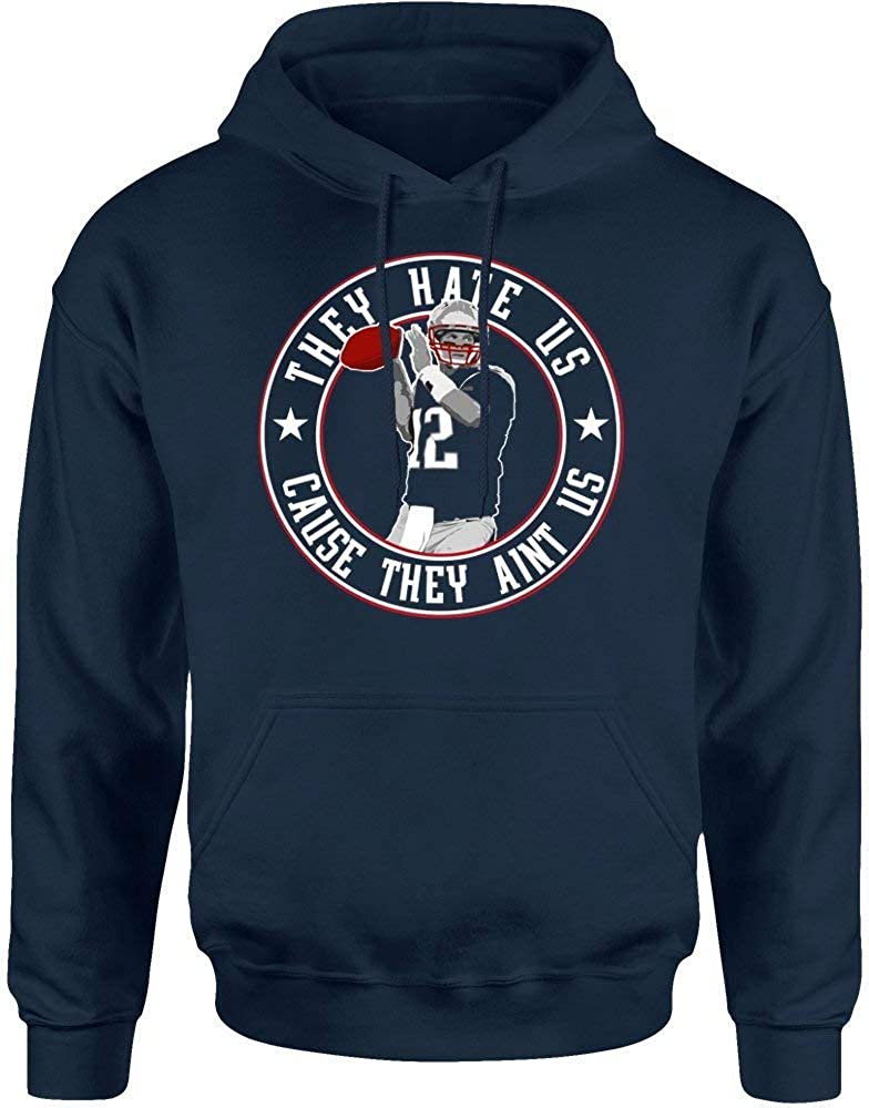 TWO Apparel They Hate Us New England Fans Hoodie Sweatshirt
