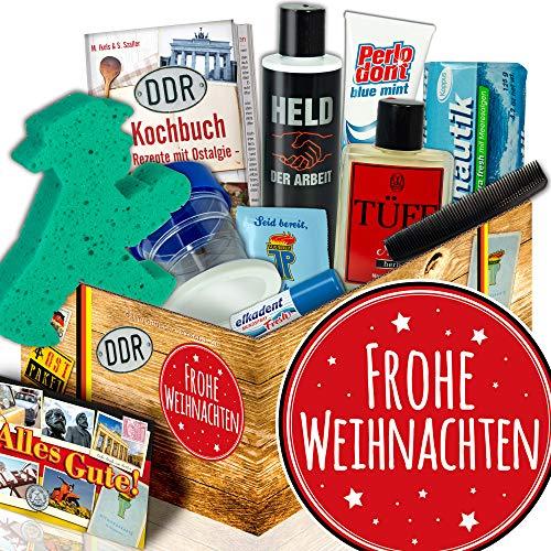 Frohe Weihnachten / Männer DDR Pflegebox / Weihnachtsgeschenkideen für Freund
