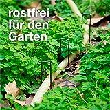 TK Gruppe Timo Klingler 55x Erdanker - 15 cm Erdnägel - rostfrei & verzinkt - Bodenanker für Gartenvlies & Unkrautvlies & Camping & Zaun - 3