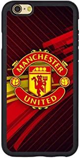 Saul&Dunn The Manchester United iPhone 7 & iPhone 8 Case Graphic Drop-Proof Durable Slim Soft TPU Cover