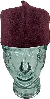 Black African Igbo Hat Chief Cap Fila African Headwear by