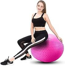 Ballon Fitness 75CM 65CM 55CM Pilates Big Yoga Ball for Sport Fitness pour Yoga Bureau Mirumb Swiss Ball Grossesse Fitness Chaise d/équilibre
