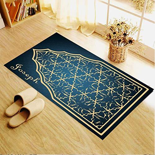 Alfombra de oración, alfombra de oración personalizada, alfombra de oración para musulmana, alfombra de oración para mujeres, regalo para musulmana, alfombra de oración turca 2 (66 x 120 cm) …