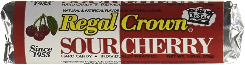 Amazon Com Regal Crown Hard Candy Rolls Sour Cherry 24 Ct By Iconic Candy Grocery Gourmet Food
