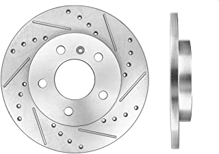 05 Relay 05-09 LaCrosse - 04-08 Pontiac Grand Prix - Detroit Axle 297mm 11.69 Premium FRONT Brake Rotors for 05-09 Buick Allure -