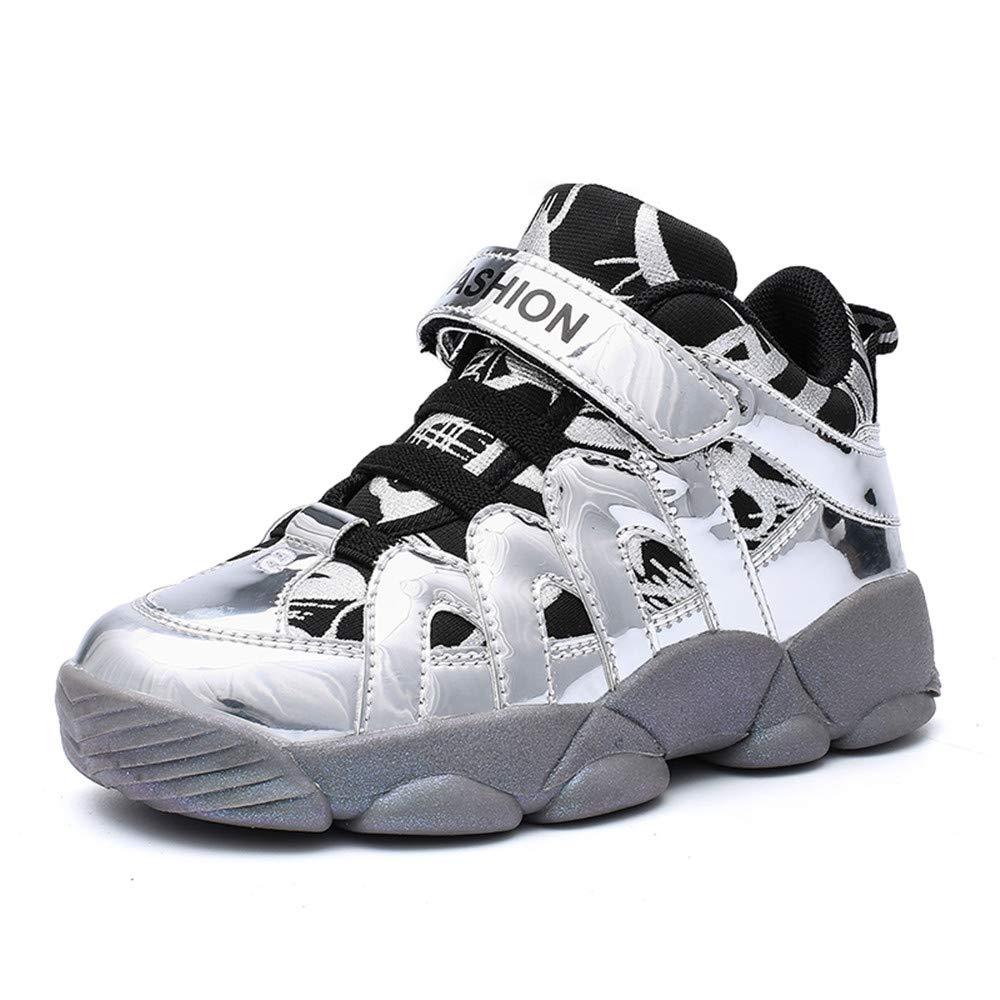 TTCXDP Zapatos De Baloncesto para Niños, Zapatos para Caminar Zapatillas Bajas Niños Trekking A Prueba De Agua Calzado De Senderismo Calzado Deportivo Al Aire Libre,Plata,33: Amazon.es: Hogar