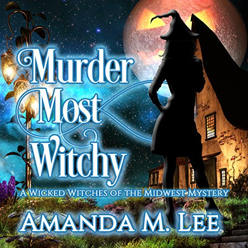 Murder Most Witchy cover art