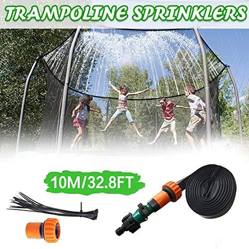 gousheng Trampolin-Wasserspielzeug Trampolin-Sprinkler, Kinder-Outdoor-Sprinkler, Outdoor-ZerstäUbungsküHlsystem Sommergarten-Spielzeug