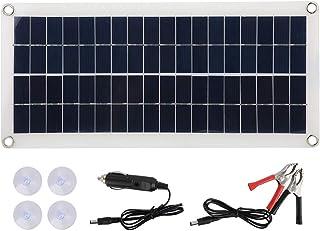 Yosoo Waterproof 10W 18V Semi Flexible Lightweight Solar Panel Polysilicon Charging Board for Outdoor Emergency Mountain C...