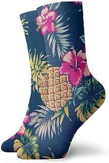Dydan Tne, Calcetines de Fiesta de Flores Hawaianas Divertidas locas para niñas y niños