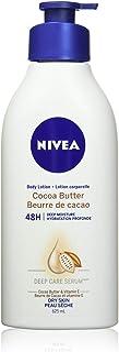 NIVEA Cocoa Butter 48H Deep Moisture Body Lotion for Dry Skin 625ml, Skin Lotion with Cocoa Butter and Vitamin E, Body But...
