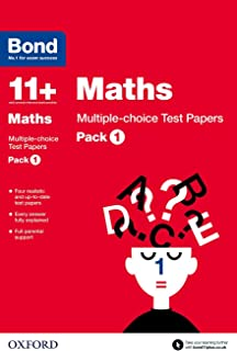 Bond 11+: Maths: Multiple-choice Test Papers: Pack 1