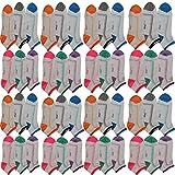 Pesail 10 Paar Damen Sneaker Socken Größe 35-42 (35-38)