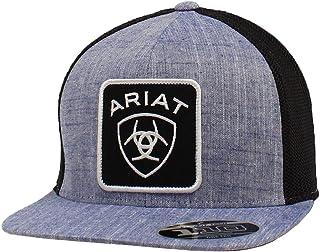قبعة زرقاء للرجال من ARIAT مقاس 110 مقاس كبير