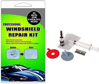 Hamkaw Car Windshield Repair Kit DIY Auto Windscreen Glass Fix Tool for Crack Chip