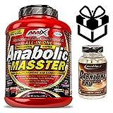 AMIX ANABOLIC MASTER (2.2KGS) + CARNITINE PRO - CHOCOLATE