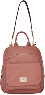 Caprese Womens Zip Closure Backpack