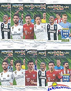 580b7c58a 2019 Panini Adrenalyn XL FIFA 365 Lot of TEN(10) Factory Sealed Booster  Packs
