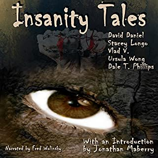Insanity Tales audiobook cover art