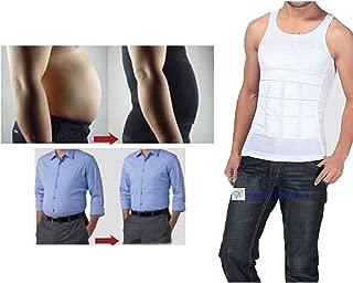 Men's Compression Shirt Undershirt Slimming Man Bra