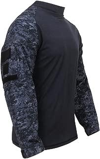 Rothco Military FR NYCO Combat Shirt - Midnite Digital Camo