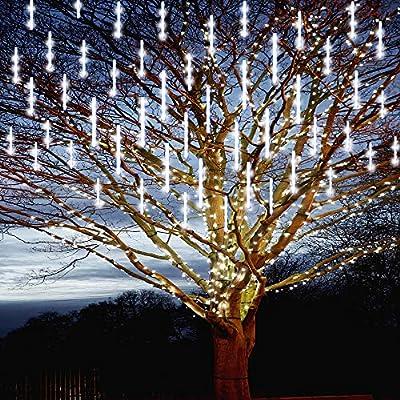 Purtuemy Meteor Shower Lights Christmas Lights ...