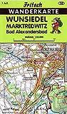 Wunsiedel - Marktredwitz - Bad Alexandersbad (Fritsch Wanderkarten 1:35000)