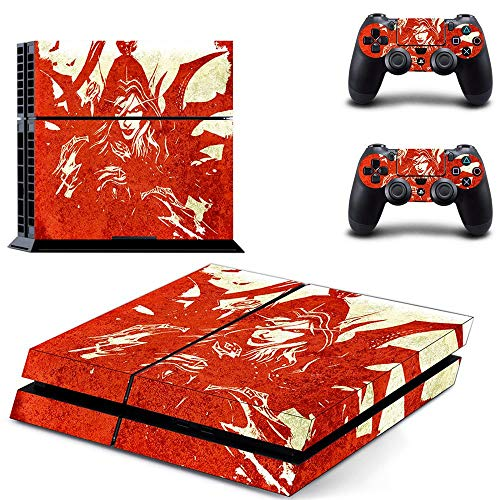 FENGLING League Of Legends Style Ps4 Skin Sticker For Playstation 4 Console & 2 Controllers Decal Vinyl Protective Skins