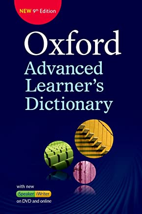 Oxford Advanced Learners Dictionary: Oxford advanced learner dictionary. Con DVD