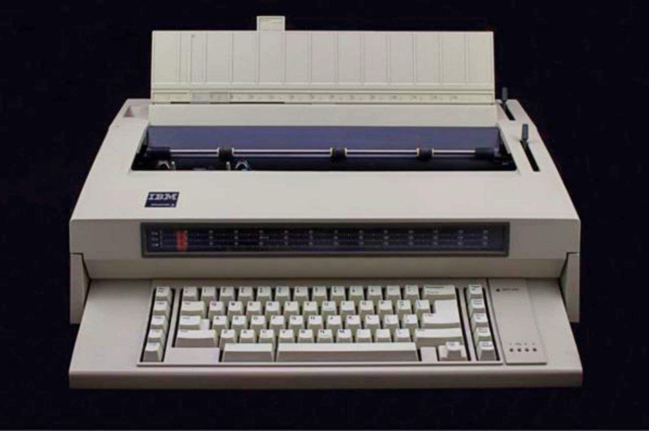 IBM Typewriter Wheelwriter III 2021new shipping Tulsa Mall free 3