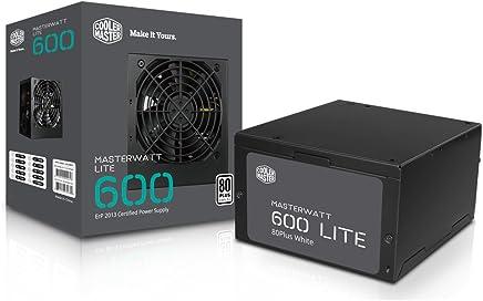 Cooler Master PW-199999 Power Supply MasterWatt Lite, 80 Plus, 600W