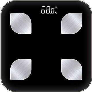 Básculas Inteligentes para Peso Corporal Báscula De Grasa Corporal Bluetooth Medir Peso IMC BMR Porcentaje De Grasa Corporal Agua Corporal
