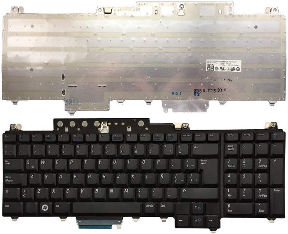 Laptop Ranking integrated 1st place Replacement Max 82% OFF Keyboard Fit Dell 0UW739 1720 L 1721 Inspiron
