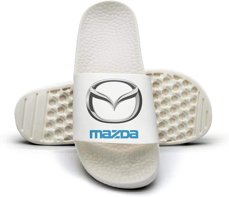 EIGKASL Printed Non-Slip Slipper Slide flip Flop Sandals Mazda-Logo-Symbol-Emblem-Summer Outdoors for Womens