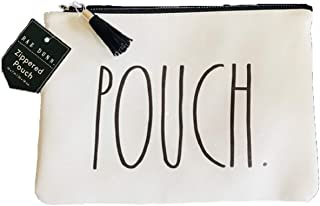 Rae Dunn by Magenta POUCH Large Letter 10