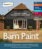 Exterior Paint & Primer in One, TekTor Barn Paint, Professional Paint...